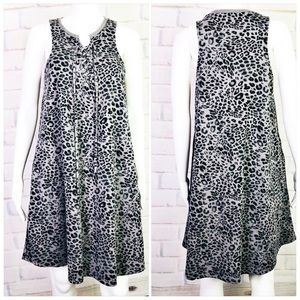 Z Supply Leopard Print Dress